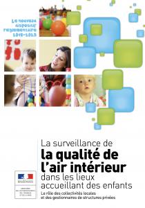 Brochure Qualité de l'air dans les écoles 2018-2023 du Ministère de l'Environnement